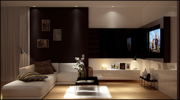 Beautiful warsaw flat by pressenter design for Beautiful flats interior