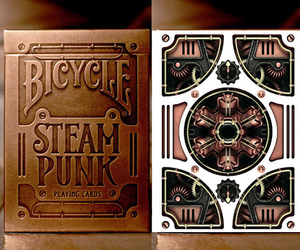 Beautifully Designed Steampunk Playing Cards