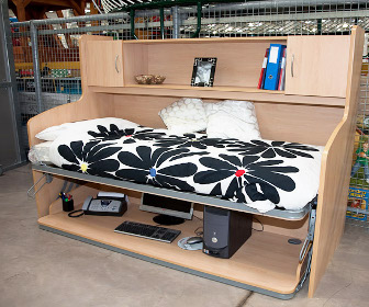 Bedesk Flexible And Space Saving Furniture