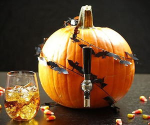 Beer Keg Made From A Pumpkin