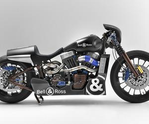 Bell & Ross x Harley-Davidson 'Custom Nascafe Racer'