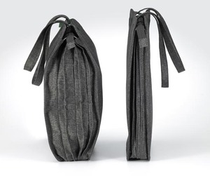 Bellows Overnight Bags by Benjamin Hubert