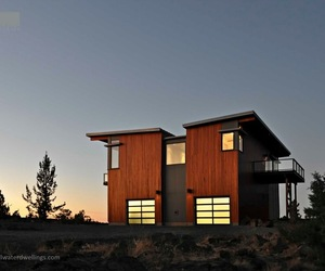 Bend Oregon Green Prefab by Stillwater Dwellings