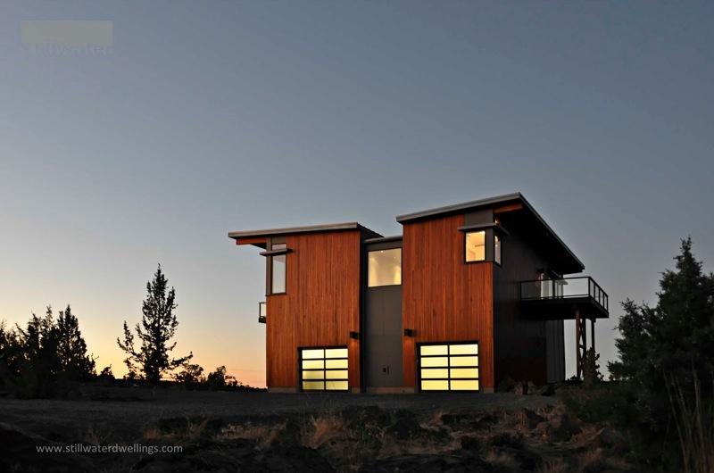 Bend Oregon Green Prefab By Stillwater Dwellings