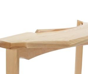Bent Back Table by Nico Yektai