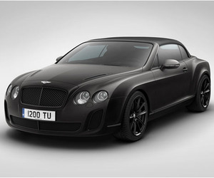 Bentley Ice Speed Record