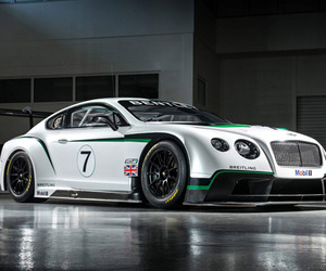 Bentley Unveils Continental GT3
