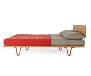 Bentwood V-Leg Bed