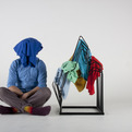 Berg clothes rack by Arash Eskafi