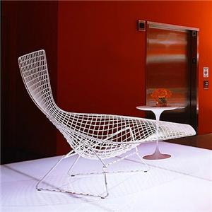 bertoia asymmetric chaise. Black Bedroom Furniture Sets. Home Design Ideas