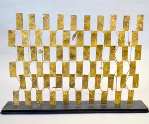 Bertoia Sculptural Screen Maquette at AADLA Show NYC