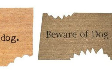 Beware of Dog Doormats