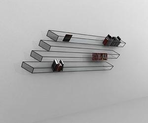 """Bias of Thoughts"" – Optical Illusive Bookshelf"