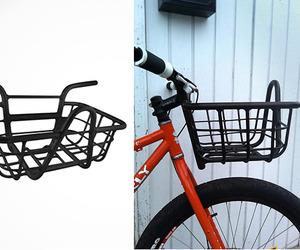 Bicycle Handlebar with Integrated Basket