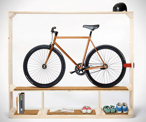 Bicycle Showcase Shelf | Postfossil