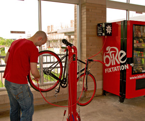 Bike Fixtation, DIY Bike Repair Station