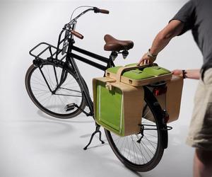 Bike Rack Picnic Set by Bloon Design