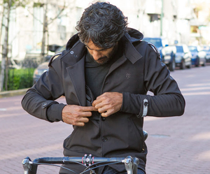 Bike to Work Jacket, by Betabrand