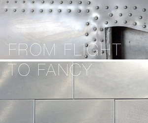 Bio-Luminum: Recycled Airplane Tiles