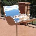 Biogri Solar Powered BBQ