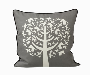 Bird Leaves Pillow by Ferm Living