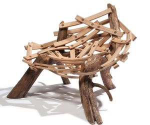 Bird nest chair 'Eyrie' by Floris Wubben