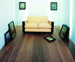 Black American Walnut Flooring by Ebony and Co