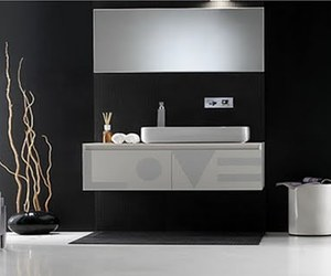 Black and White Bathroom Furniture From Ex-t