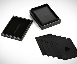 Black Playing Cards by Alexander Wang