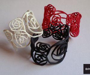 BLACK ROSE Armband