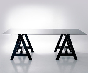 Blacksmith Acrylic Desk by Alexandra Von Furstenberg
