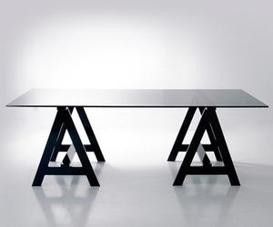 Blacksmith Acrylic Desk by Alexandra Von Furstenberg