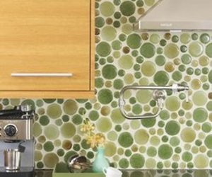 BlazeStone 100 Percent Recycled Glass Tile