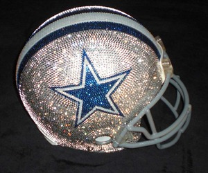 Blinged Out NFL Helmets