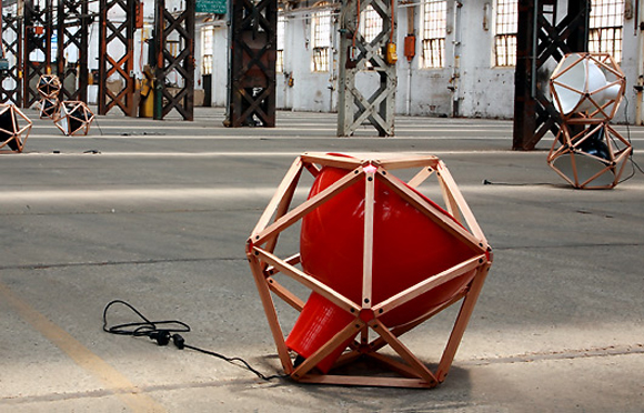 Block 2 Lamp by Henry Pilcher