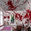 Blood Bath Wallpaper Murals by Pixers