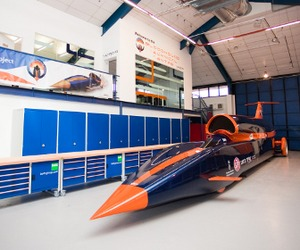 BLOODHOUND Super Sonic Car