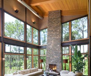 Blue Heron Pond Residence by Christopher Rose Architects