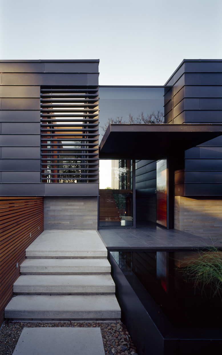 Bluestone zinc architecture in balmoral for Architecture zinc