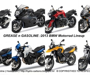 BMW 2013 Motorcycle Lineup