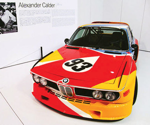BMW 3.0 CLS by Alexander Calder