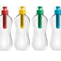 bobble: Single-serve Bottle with Reusable Filter