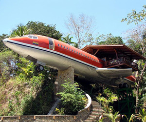 Boeing 727 Airplane Hotel Room in Costa Rica