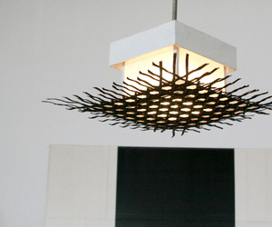 Bokuro Ceiling Light by Tucker Robbins