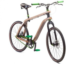 Bonobo, Bent Plywood Bicicle by Stanislaw Ploski