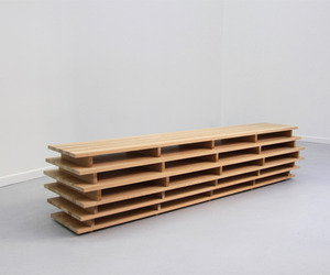 Bookcase by Aïssa Logerot
