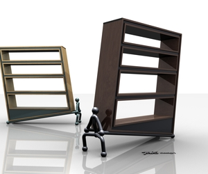 Bookcase by JAKI
