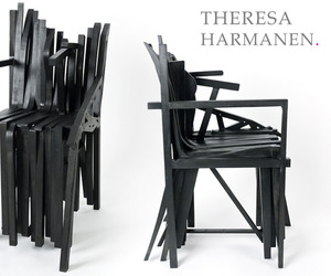 Borrowed chair by Theresa Harmanen