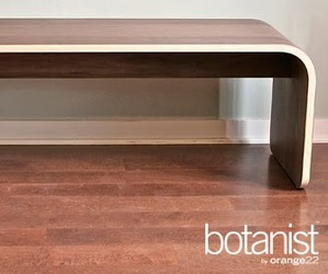 Botanist Minimal: All Wood Bench