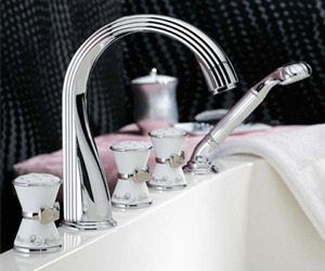 Boudoir Bath Fixtures by Lingerie Designer Chantal Thomass